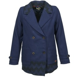 textil Dame Frakker Roxy MOONLIGHT JACKET Marineblå / Sort