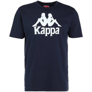 textil Herre T-shirts m. korte ærmer Kappa Caspar Tshirt Flåde