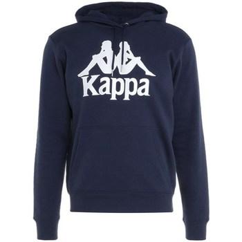 textil Herre Sweatshirts Kappa Taino Hooded Sweatshirt Flåde