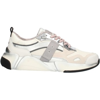 Sko Dame Lave sneakers Blauer 9FMONROE01 White and silver
