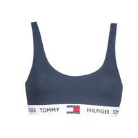 Undertøj Dame Sports-BH'er / toppe Tommy Hilfiger ORGANIC COTTON Marineblå