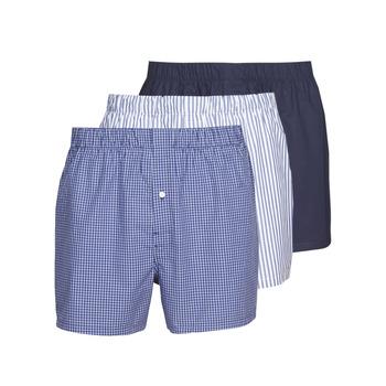 Undertøj Herre Trunks Lacoste 7H3394-8X0 Hvid / Blå