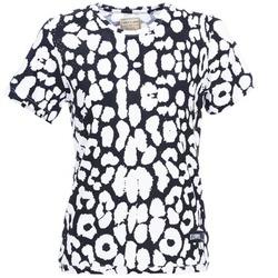 textil Dame T-shirts m. korte ærmer Eleven Paris BIRINA Sort
