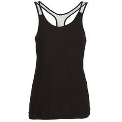 textil Dame Toppe / T-shirts uden ærmer Religion DELICATE Sort
