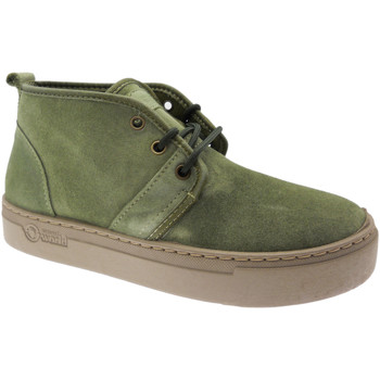 Sko Dame Høje sneakers Natural World NAW6151922ka verde