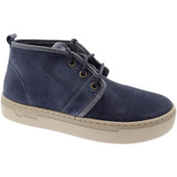Sko Dame Høje sneakers Natural World NAW6151977ma blu