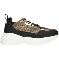 Sko Dame Lave sneakers Alexander Smith SP73896 Black gold and white