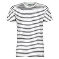 textil Herre T-shirts m. korte ærmer Casual Attitude KINO Marineblå / Hvid