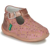 Sko Pige Sandaler Kickers BONBEK-3 Pink / Polka dot