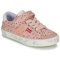 Sko Pige Lave sneakers Kickers GODY Pink / Polka dot