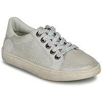 Sko Pige Lave sneakers Kickers LYKOOL Grå / Sølv / Leopard