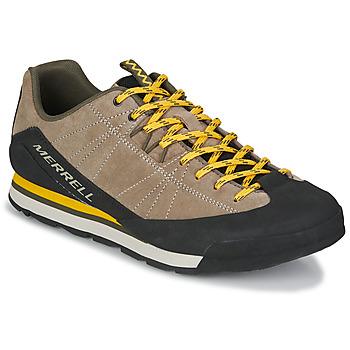 Sko Herre Lave sneakers Merrell CATALYST SUEDE Beige / Sort