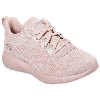 Sko Dame Lave sneakers Skechers Bobs Squad Pink