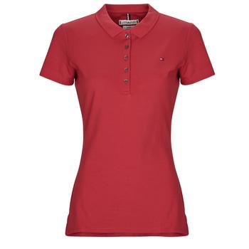 textil Dame Polo-t-shirts m. korte ærmer Tommy Hilfiger NEW CHIARA Rød