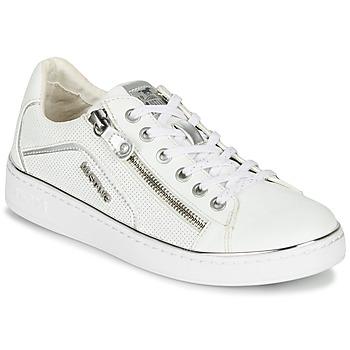 Sko Dame Lave sneakers Mustang 1300-303-121 Hvid / Sølv