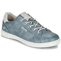Sko Dame Lave sneakers Mustang 1349301-875 Blå