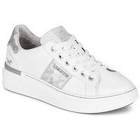 Sko Dame Lave sneakers Mustang 1351304-121 Hvid / Sølv