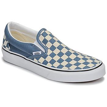 Sko Slip-on Vans CLASSIC SLIP-ON Blå / Hvid