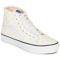 Sko Dame Høje sneakers Vans SK8-HI TAPERED Pink / Hvid