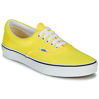 Sko Dame Lave sneakers Vans ERA NEON Gul