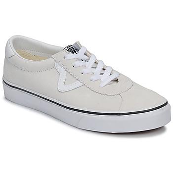 Sko Lave sneakers Vans VANS SPORT Hvid