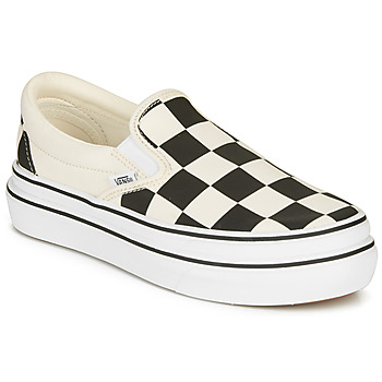 Sko Dame Slip-on Vans SUPER COMFYCUSH SLIP-ON Hvid / Sort