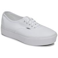 Sko Dame Lave sneakers Vans AUTHENTIC PLATFORM 2.0 Hvid