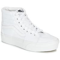 Sko Dame Høje sneakers Vans SK8-HI PLATFORM 2.0 Hvid