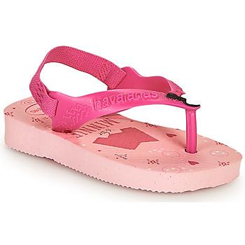 Sko Pige Klipklapper  Havaianas BABY DISNEY CLASSICS II Pink