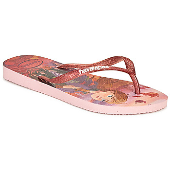 Sko Pige klipklapper  Havaianas KIDS SLIM FROZEN Pink