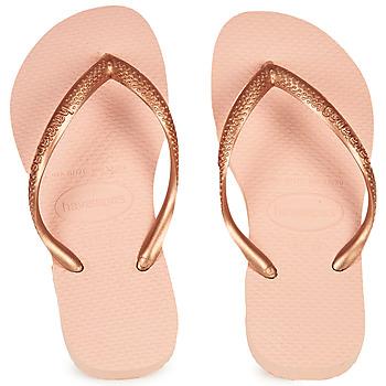 Sko Pige klipklapper  Havaianas SLIM Pink