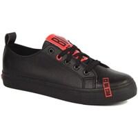 Sko Dame Lave sneakers Big Star INT1222B Sort