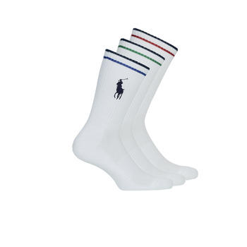 Accessories Herre Strømper Polo Ralph Lauren 3PK BPP-SOCKS-3 PACK Hvid