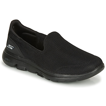 Sko Dame Slip-on Skechers GO WALK 5 Sort