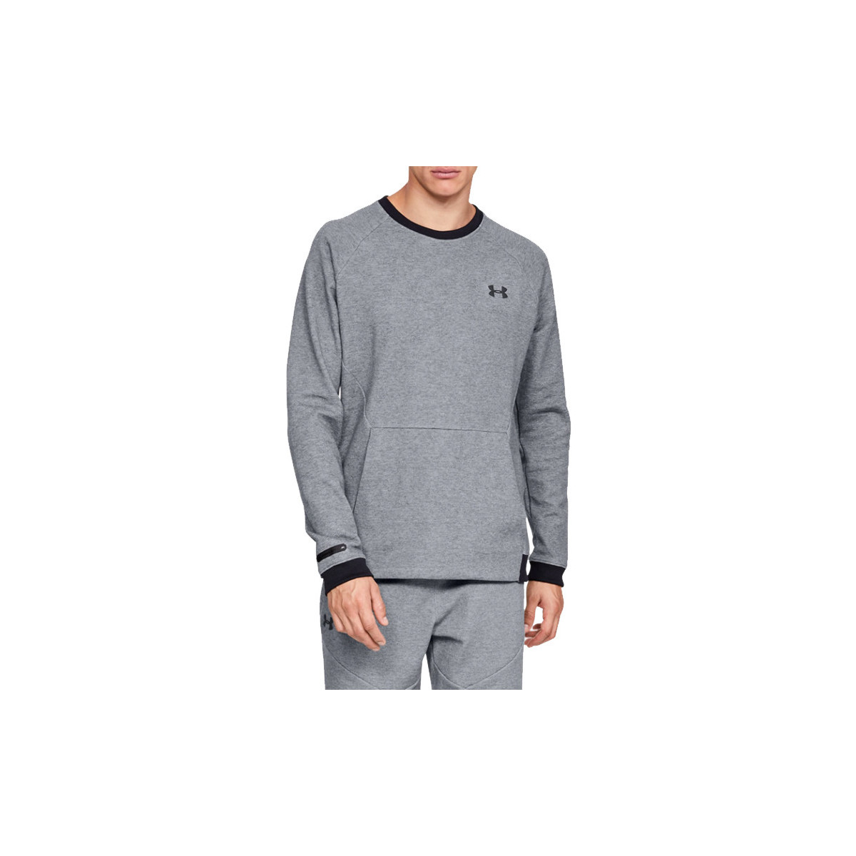 Sweatshirts Under Armour  Unstoppable 2X Knit Crew 1329712-035