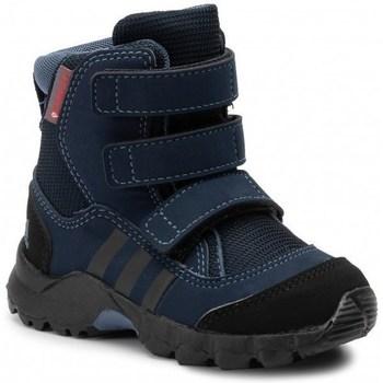 Sko Børn Vinterstøvler adidas Originals CW Holtanna Snow CF Sort, Flåde