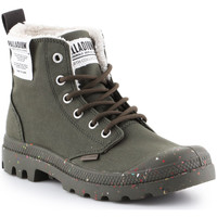 Sko Høje sneakers Palladium Manufacture Pampa Earth 76437-309-M green