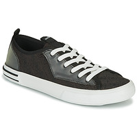 Sko Herre Lave sneakers Guess NETTUNO LOW Sort / Grå