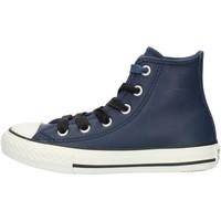 Sko Dreng Høje sneakers Converse 662809C Blue