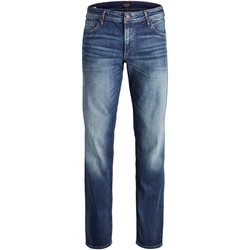 textil Herre Jeans Jack & Jones 12157492 JJICLARK JJORIGINAL JOS 178 PS BLUE DENIM Azul