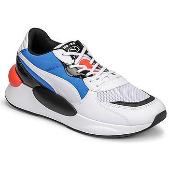 Sko Herre Lave sneakers Puma RS 9.8 MERMAID Hvid / Sort / Blå