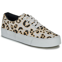Sko Dame Lave sneakers Superdry CLASSIC LACE UP TRAINER Leopard