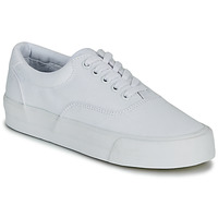 Sko Dame Lave sneakers Superdry CLASSIC LACE UP TRAINER Hvid