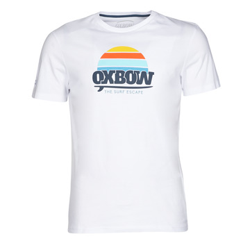 textil Herre T-shirts m. korte ærmer Oxbow M1TEKSO Hvid