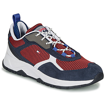 Sko Herre Lave sneakers Tommy Hilfiger FASHION MIX SNEAKER Blå