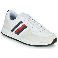 Sko Herre Lave sneakers Tommy Hilfiger MODERN CORPORATE LEATHER RUNNER Hvid