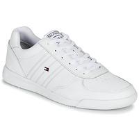 Sko Herre Lave sneakers Tommy Hilfiger LIGHTWEIGHT LEATHER SNEAKER Hvid