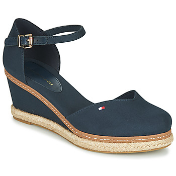 Sko Dame Sandaler Tommy Hilfiger BASIC CLOSED TOE MID WEDGE Blå
