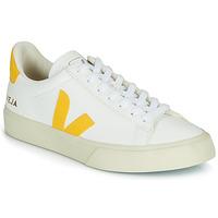 Sko Dame Lave sneakers Veja CAMPO Hvid / Gul
