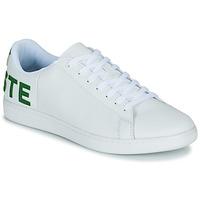 Sko Herre Lave sneakers Lacoste CARNABY EVO 120 7 US SMA Hvid / Grøn